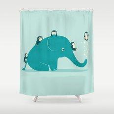 Waterslide Shower Curtain
