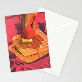 WAFFLE Stationery Cards