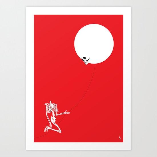 Inflated Ego Art Print