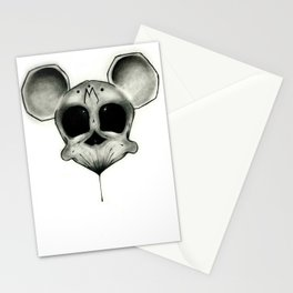 MICKEY DEATH MOUSE Stationery Cards