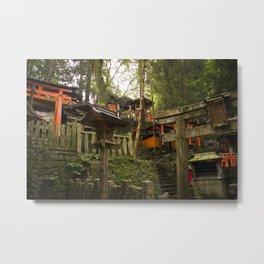 Fushimi Inari Taisha Forest Metal Print