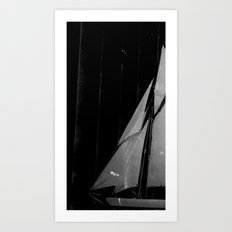 And ships are going... Art Print