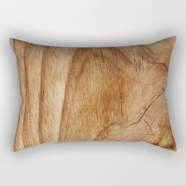 Natural Wood Texture for Wood Artworks Lovers. Rectangular Pillow