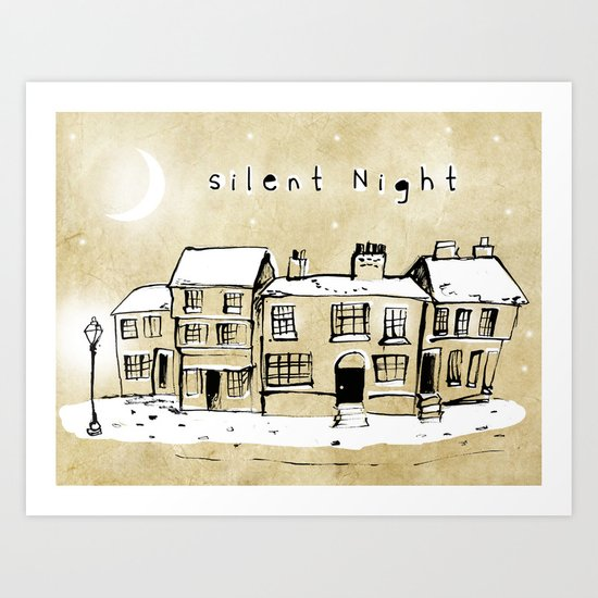 Silent Night 2 Art Print