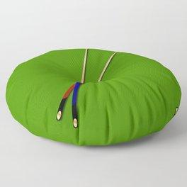 Snooker Cues Floor Pillow