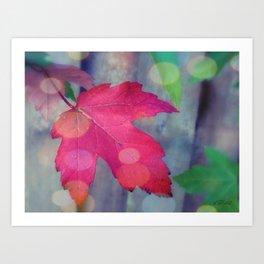 Fall Celebration Art Print