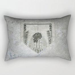 20 bucks Rectangular Pillow