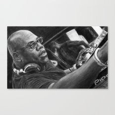 Carl Cox Pencil Drawing Canvas Print