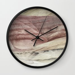 Hills as Canvas, No. 3 Wall Clock