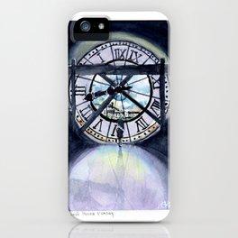 Horloge Musee d'Orsay iPhone Case
