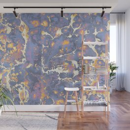 Complementary Paint Marble Wall Mural