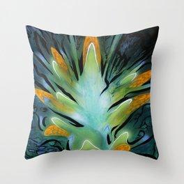 Shuttleflower Redux Throw Pillow