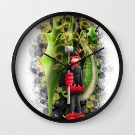 Correfoc Wall Clock