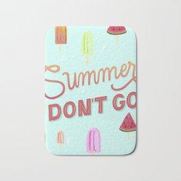 Summer forever Bath Mat