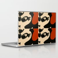 minnie mouse Laptop & iPad Skins featuring Doodling Minnie Mouse by SH.drawings