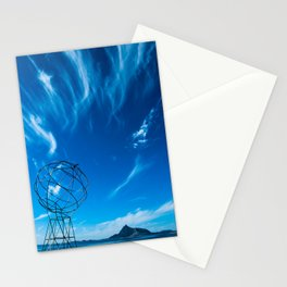 Norway view Stationery Cards