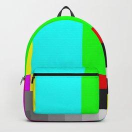SMPTE Television TV Color Bars Backpack