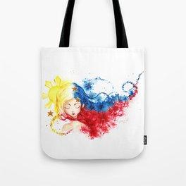 Lady Filipino Tote Bag