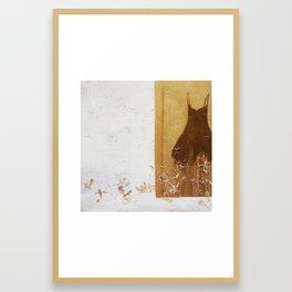 one dress Framed Art Print