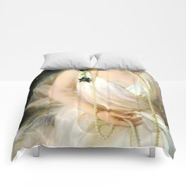Portrait of Agnes Marsh Comforters