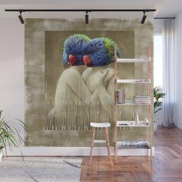Love Birds Wall Mural