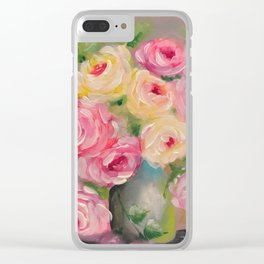 Country Bouquet Clear iPhone Case