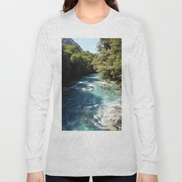 Lake Marian, New Zealand Long Sleeve T-shirt