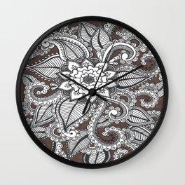Thrive (Brown) Wall Clock