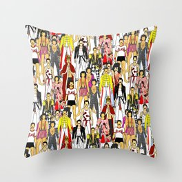 Freddie-A-Thon Throw Pillow