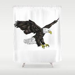 Bald Eagle Image Shower Curtain