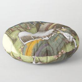 Into The Wild Things Floor Pillow