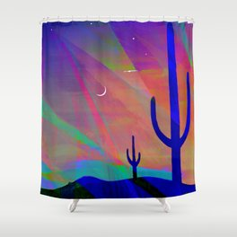 Arizona Evening Shower Curtain