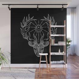 Sacred Deer Wapiti Wall Mural