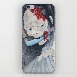 Creepy Takenobu Onibaba - Japanese Ghost iPhone Skin