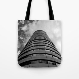 Keep Your Aim High (Bridgewater Place) Tote Bag