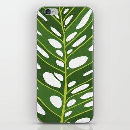 Tropical leaf XVIII iPhone Skin