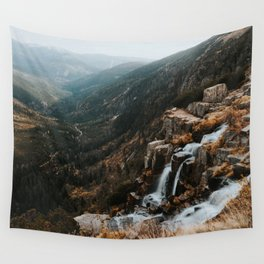 Autumn falls - Landscape and Nature Photography Wall Tapestry