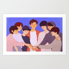 Festa 2018 Art Print
