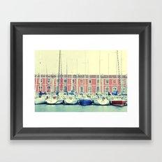 Sea Forest Framed Art Print