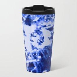 Broken Blue Travel Mug