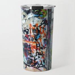 Mauerpark Graffiti Artwork Berlin Travel Mug