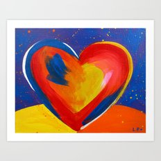 This Heart Will Rise Above Art Print