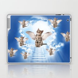 All Cats Go to Heaven Laptop & iPad Skin