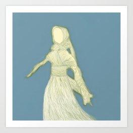 Corn Husk Doll Art Print