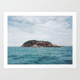 Ocean blues  Art Print
