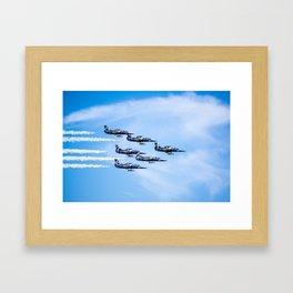 Breitling Jets In Formation Framed Art Print