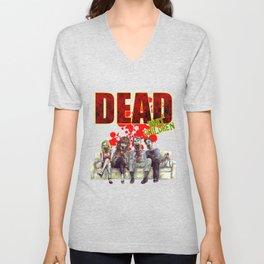 Dead whit children Unisex V-Neck