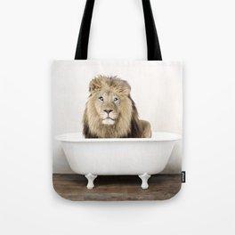 Lion Bathtub (c) Tote Bag