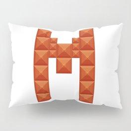 "Letter ""M"" print in beautiful design Fashion Modern Style Pillow Sham"