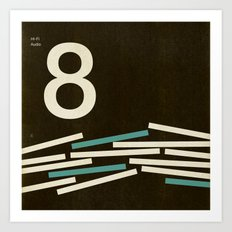 Jazz Revival Collection - Stacks 8 Art Print